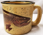 TM10148.BRNH - Almond 15oz Brown Trout Trail Mug TM10148.BRNH