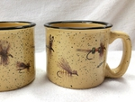 TM10148.FLYAW - Almond 15oz Trail Mug - Dry Flies Series Wrap TM10148.FLYA
