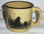 TM10148.LBF - Almond 15oz Bear and Cubs Mug TM10148.LBF