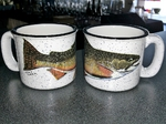TM10178.BRKH - 15oz White Trail Mug - Brook Trout TM10178.BRKH