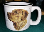 TM10178.CHS - 15oz White Trail Mug - Chesapeake Bay Retriever TM10178.CHS