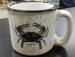 TM10178.CRB - 15oz White Trail Mug - Crab TM10178.CRB