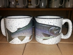 TM10178.CUTH - 15oz White Trail Mug - Cutthroat Trout TM10178.CUTH