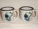 TM10178.ENG - 15oz Wide Lip White Trail Mug - English Setter TM10178.ENG