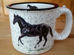 TM10178.HEBC - 15oz White Trail Mug - Black Canter TM10178.HEBC