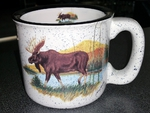 TM10178.LMW - 15oz Scenic Moose White Trail Mug TM10178.LMW