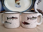 TM10178.SALA - 15oz White Trail Mug - Salmon Series TM10178.SALA
