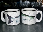 TM10178.SIL - 15oz White Trail Mug - Silver Salmon TM10178.SIL
