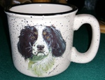 TM10178.SPS - 15oz White Trail Mug - Springer Spaniel TM10178.SPS