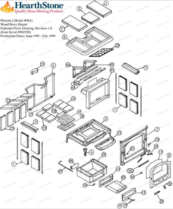 Phoenix Model 8611 Parts