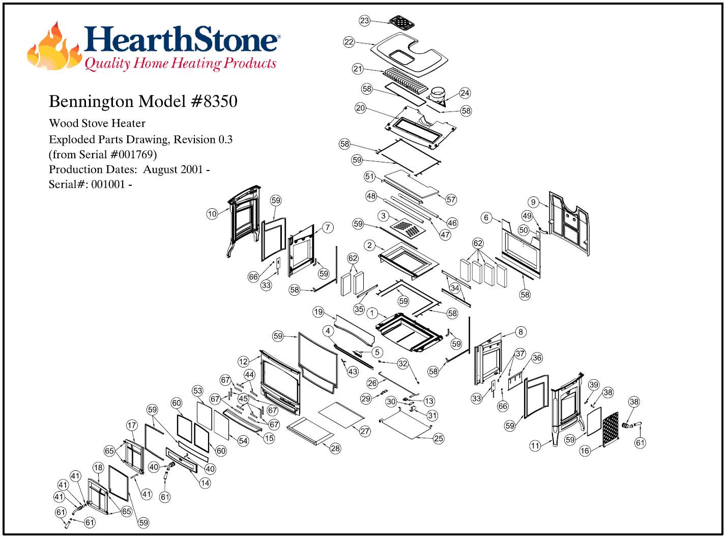 bennington parts catalog