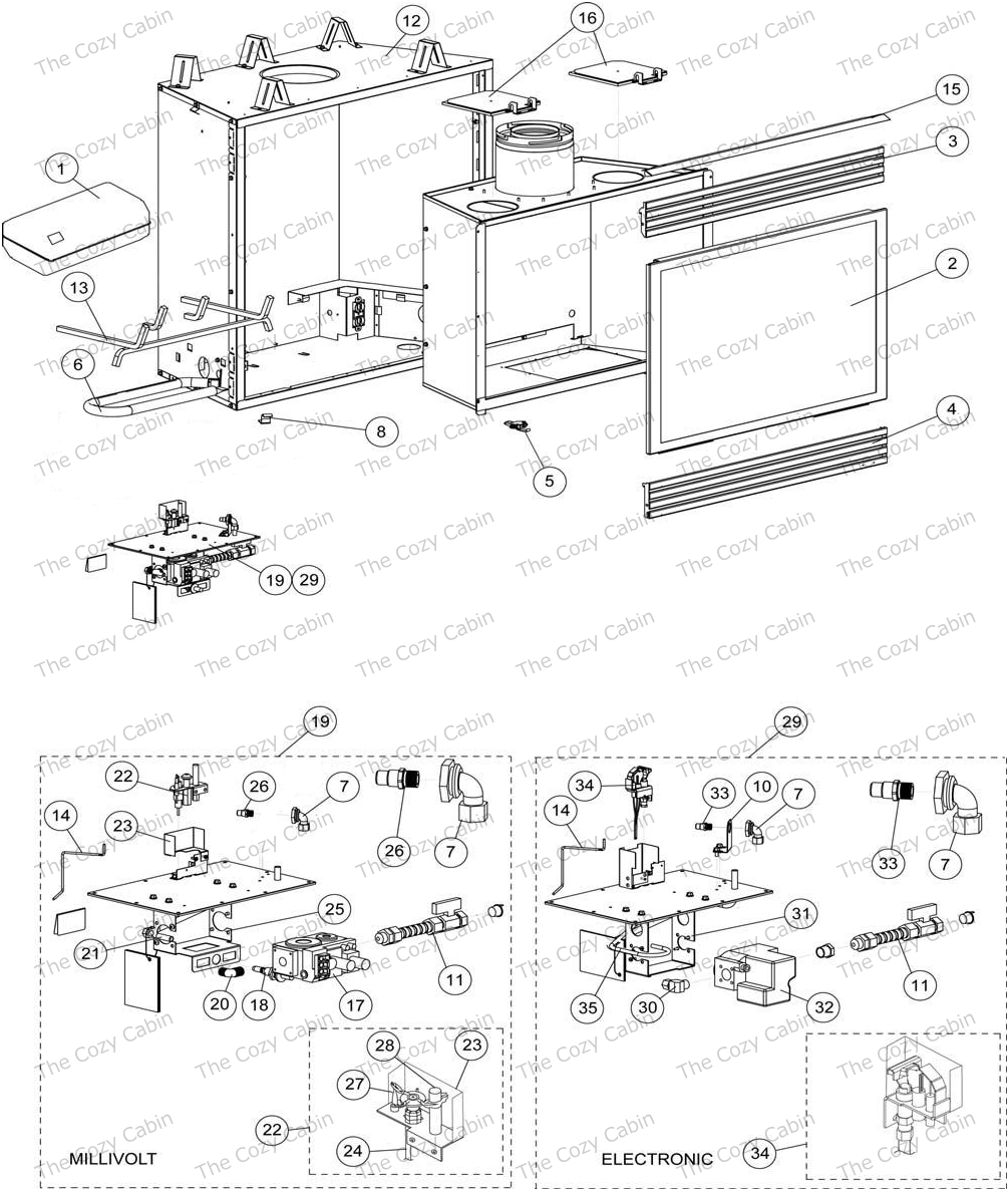 lennox superior fireplace manual