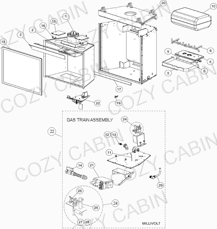 Gas Fireplace Diagram Gas Fireplace Schmatic Gas Fireplace Schematic
