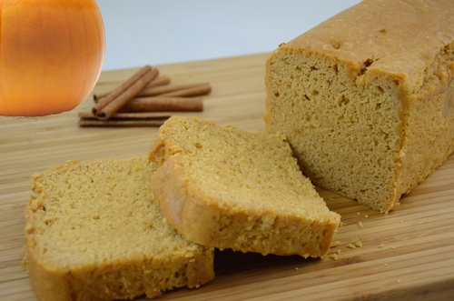FAT-FREE PUMPKIN SPICE BREAD #40003