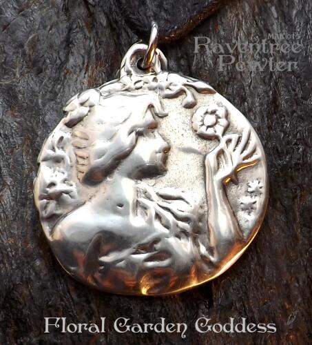 Floral Garden Goddess #28-FloralGardenGoddess