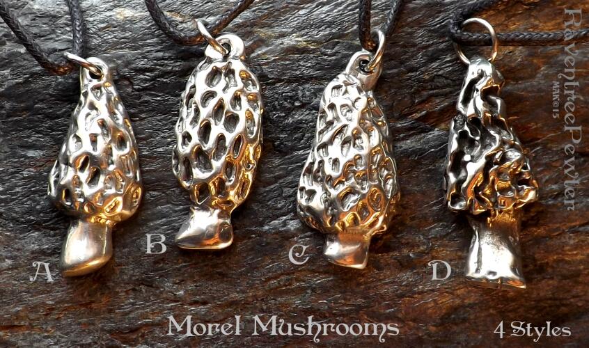 Morel Mushrooms -4 Styles #60-MorelMushrooms