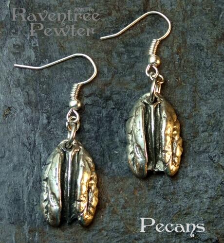 Pecan Earrings #73-PecanEarrings