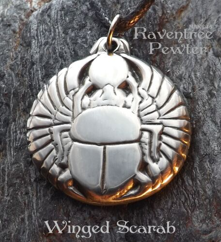 Winged Scarab #10-Egyptian