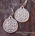 Celtic Harmony Knot - Earrings 13-CelticHarmonyKnotEar