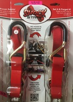 6' Red Cam Strap Double Pack 603
