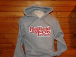 Hoodie Gray & Red 203