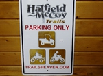 HMT Parking Sign 532