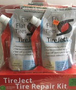 2 Pack 8 oz Tireject with injector 620
