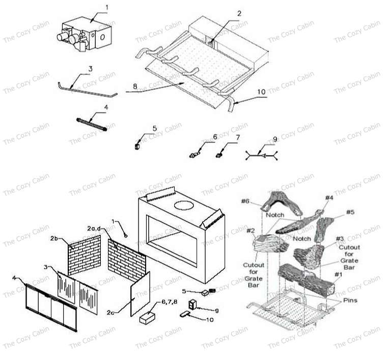 Bv5142 Bv5142 The Cozy Cabin Stove Fireplace Parts Store