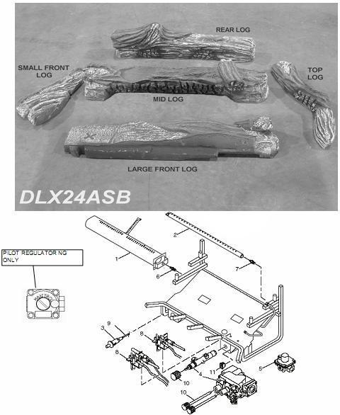 DLX24/28B MILLIVOLT #DLX24-28B-MILLIVOLT