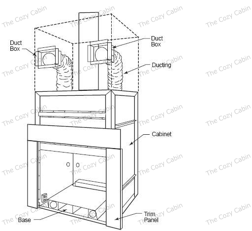 Large Winterwarm Energy Cabinet With Plinth 2110 The