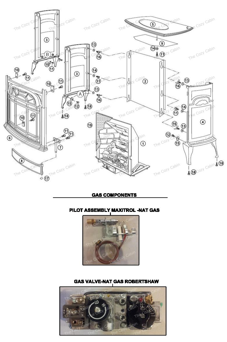 UV25M Stardance Vent Free Gas Heater  #UV25M