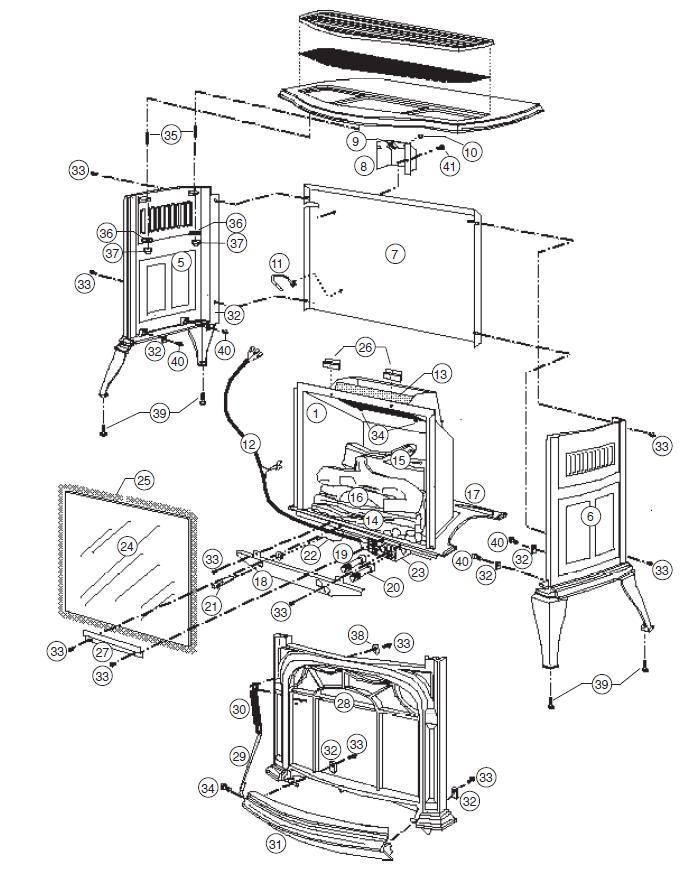 quadrafire wiring diagram