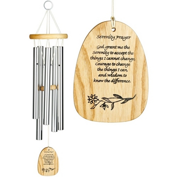 Woodstock Reflections - Serenity Prayer Chime #5826