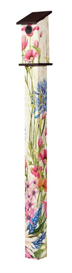 Studio M 5' Butterfly Dance Bluebird House Art Pole