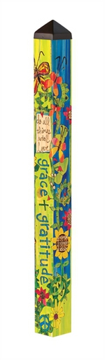 Studio M 4' Grace and Gratitude Art Pole 5862