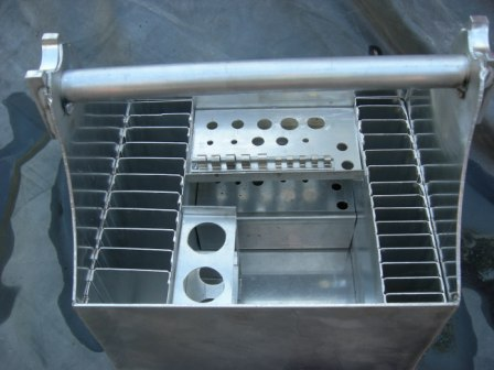 Nick's Aluminum Tool Tote CHTB1A