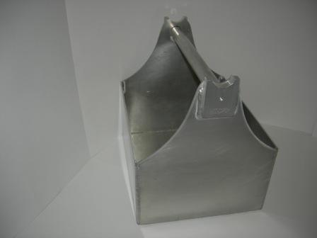 """All Aluminum Tool Tote 10""""W  x 12""""H  x  6""""D x 12"""" L #CHTB1"""