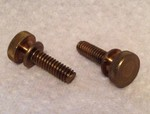 Knurled Thumb Screw (Brass) for Tool Tote CHTS1