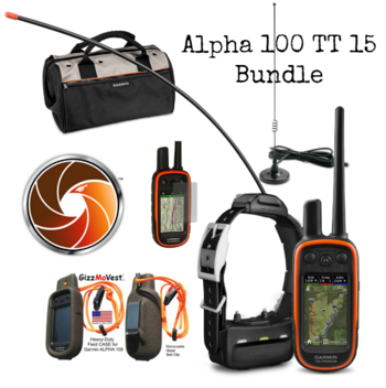 Garmin Alpha 100 with TT 15 or TT 15 Mini Bundle   #Garmin-Alpha-Bundle
