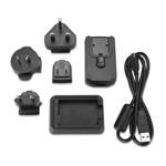 Lithium Ion Battery Charger for Garmin Alpha 100 Battery 010-11921-06