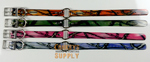 "18"" Dayglo Collars with D & O Rings- Camo DO_Camo"