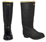 Dan's Lacrosse Black Knee Boot- Non Insulated 7150