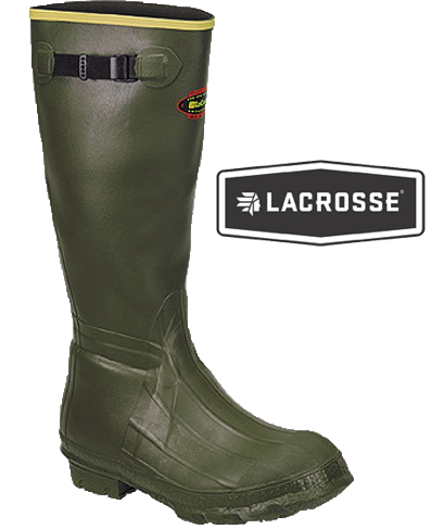 LaCrosse Burly Classic Knee Boot- Insulated with Chaps 716Chaps