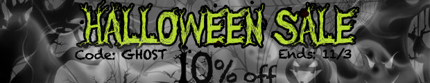 Halloween Sale - Save 10% Off Any Order!