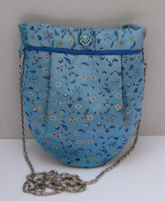 Chinese Brocade Bag #EB3101