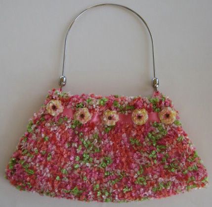 Hand-Knitted Bag #HB110
