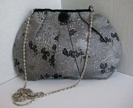 Gray Orient Purse EO3104