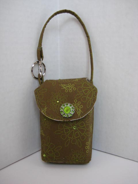 Green Garden Cell Phone Purse #CP4106