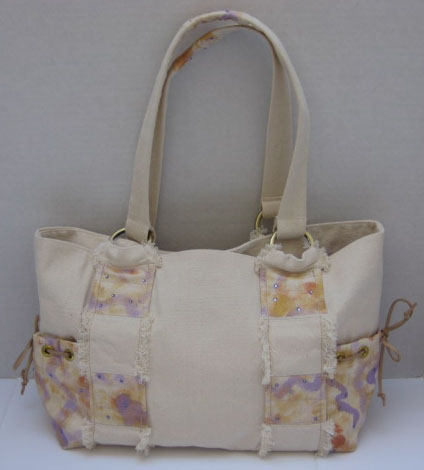 Hand-Painted Tote #TO3101