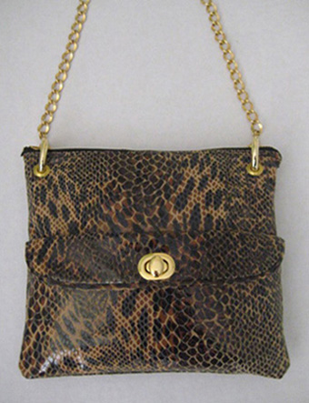 Snakeskin Leather Bag SL3100